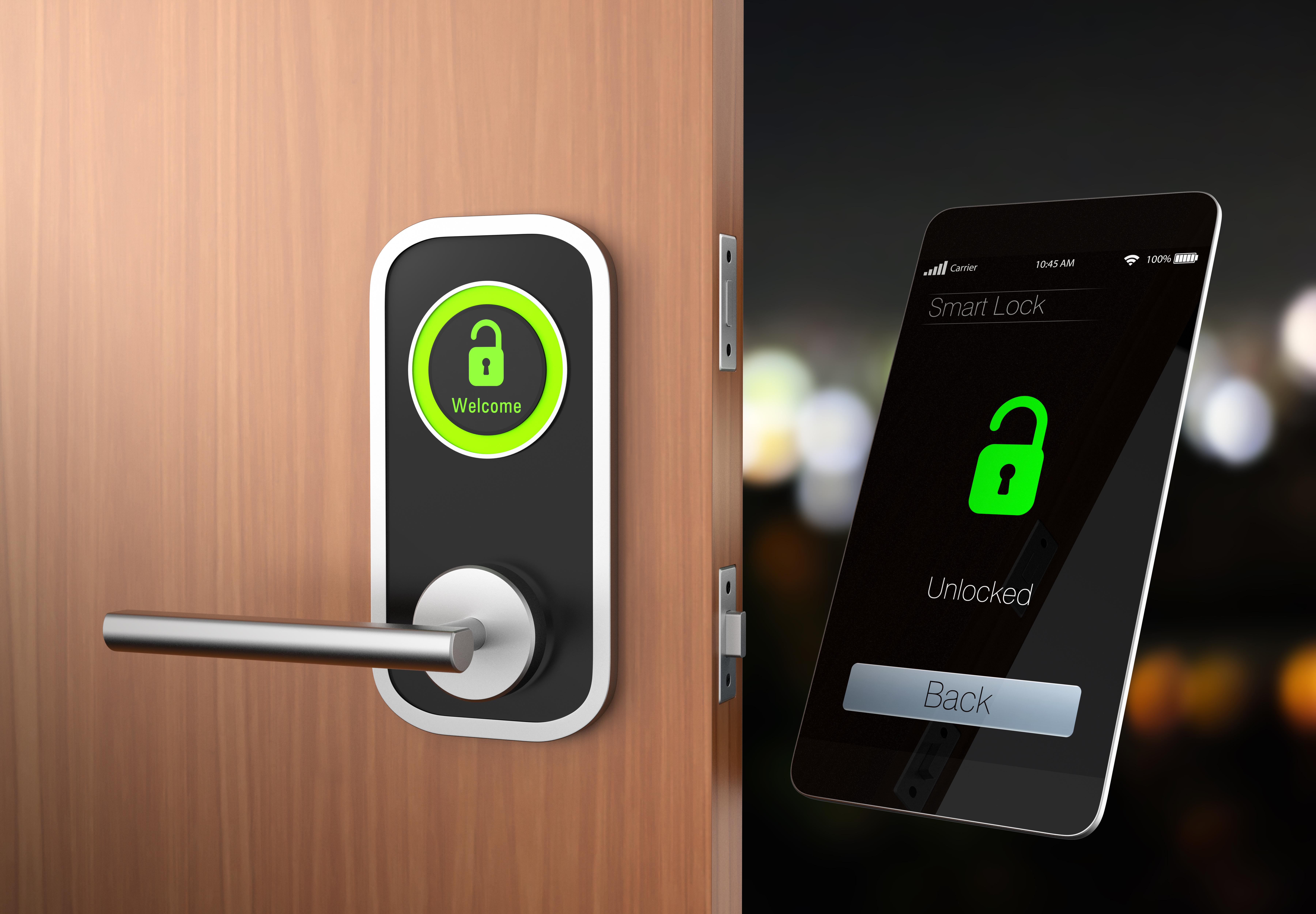 Smart Door Lock Installation
