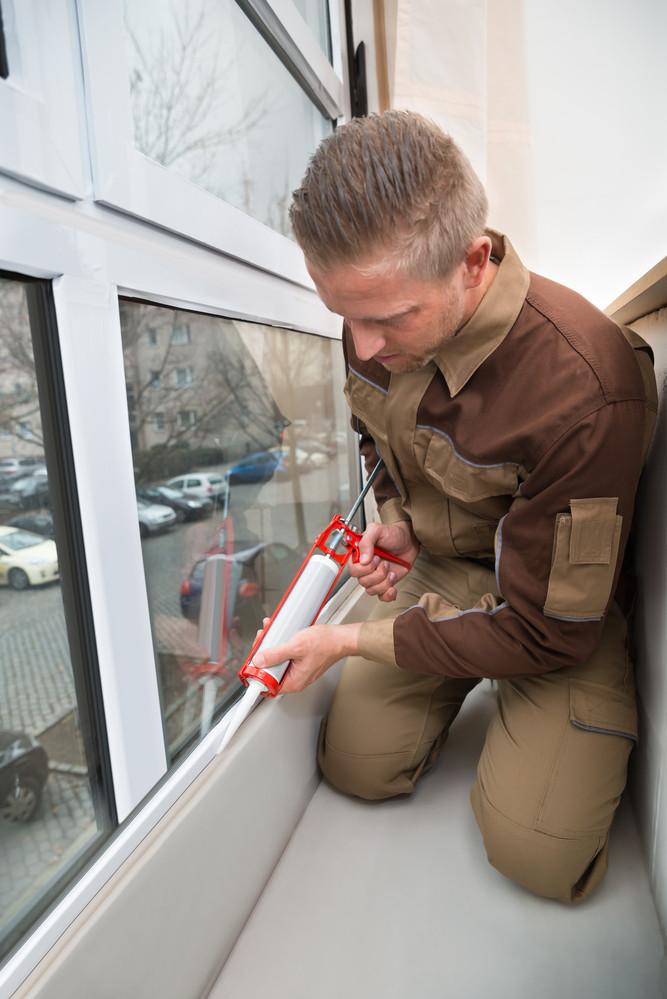 External Window Sealing and Caulking